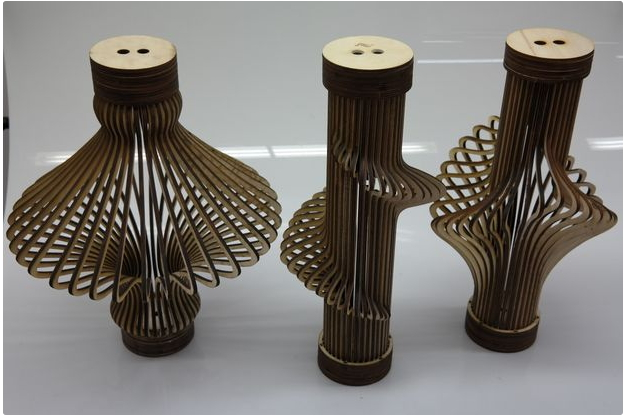 Surge Lamp For Laser Cut Free CDR Vectors Art