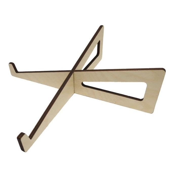 Laptop Stand Mdf 6mm For Laser Cut Free DXF File