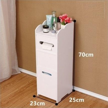 Modern Bathroom Furniture Cabinet Storage Rack For Laser Cut Free DXF File