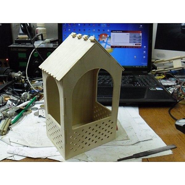 Bird Feeder For Laser Cut Free CDR Vectors Art
