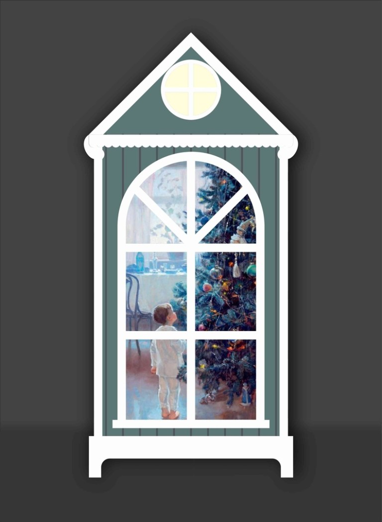 Night Light Acrylic With Translucent Printing In Windows Free CDR Vectors Art