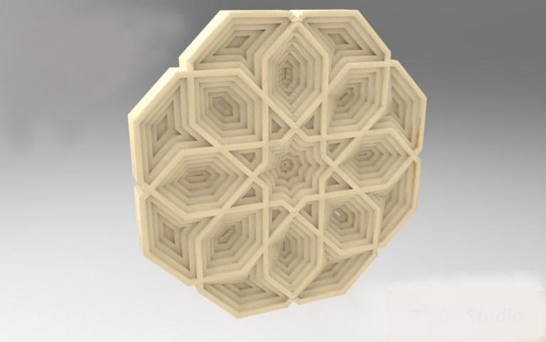 3d Mandala Drawing For Laser Cutting Free CDR Vectors Art