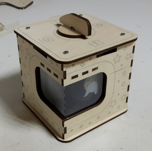 Gift Box For A Standard Mug For Laser Cutting Free CDR Vectors Art