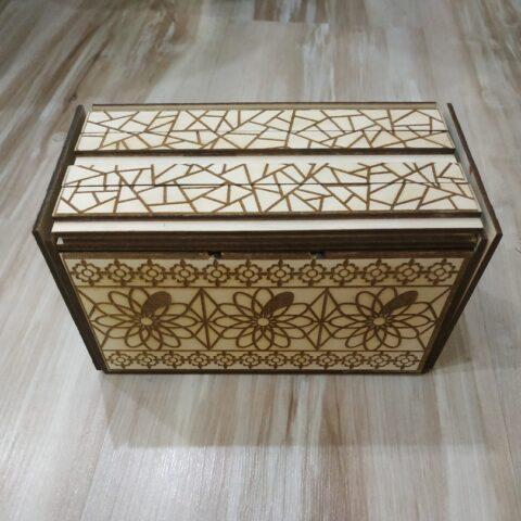 Secret Box For Laser Cut Free CDR Vectors Art