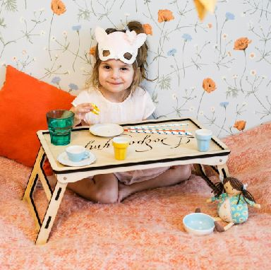 Childrens Table For Laser Cutting Free CDR Vectors Art