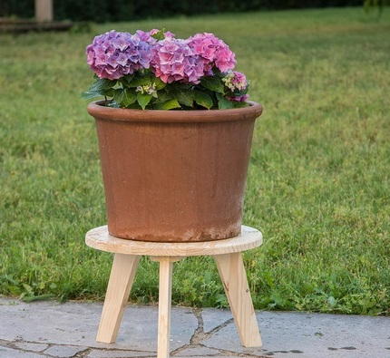 Modern Plant Stool For Laser Cutting Free DXF File