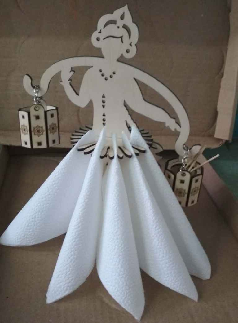 Collection Of Napkin Holders For Laser Cutting Free CDR Vectors Art