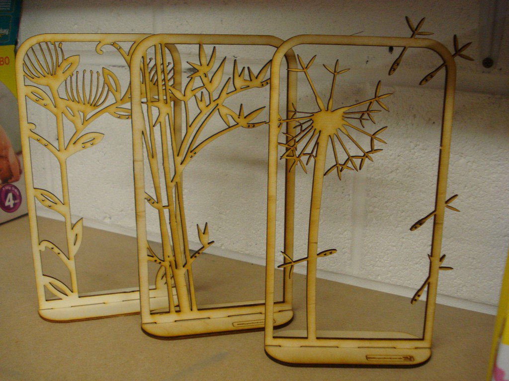 Laser Cut Jewelry Stand Free CDR Vectors Art
