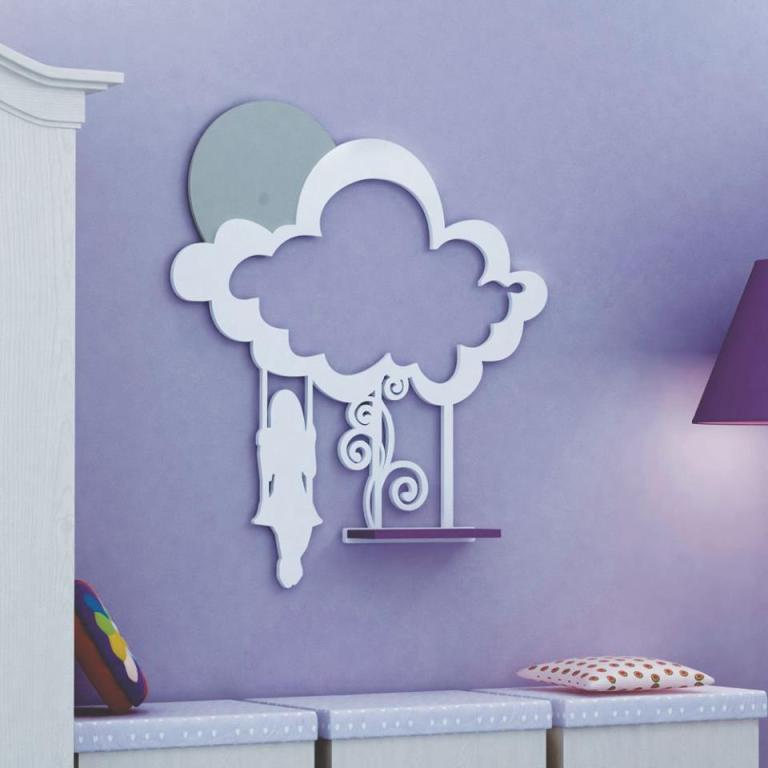 Cloud Photo Frame For Laser Cutting Free CDR Vectors Art