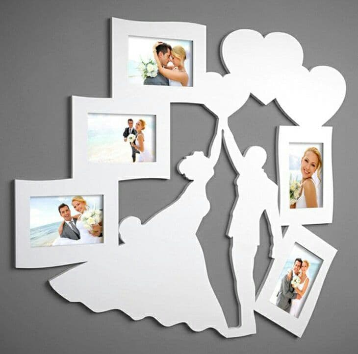 Family Photo Frame Drawing For Laser Cutting Free CDR Vectors Art