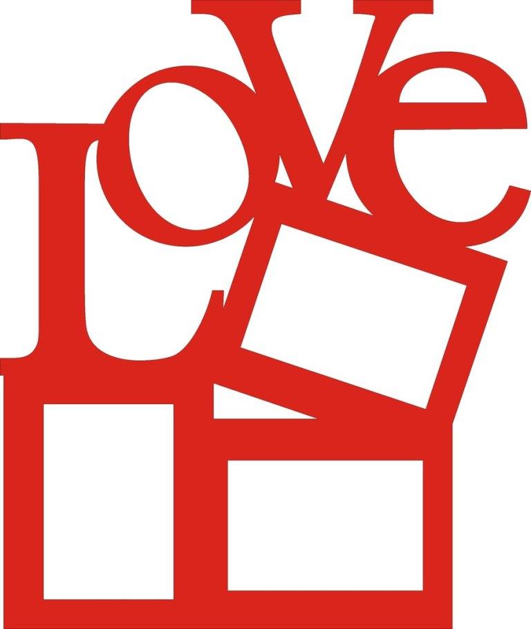 Love Photo Frame Love For Laser Cut Free CDR Vectors Art