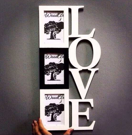 Photo Frame Love Love For Laser Cut Free CDR Vectors Art