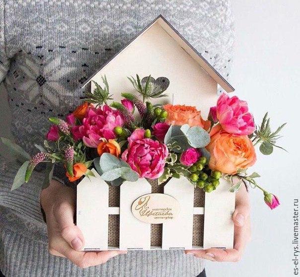Flower Basket Home For Laser Cut Free CDR Vectors Art