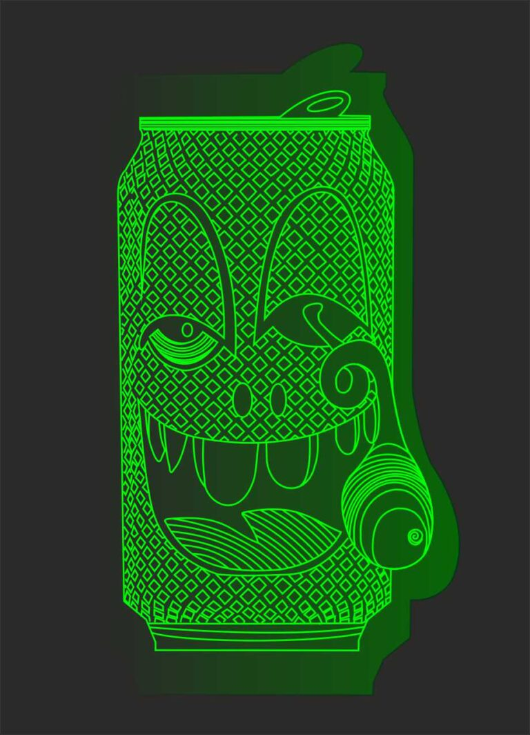 Acrylic Lamp 3 Layout For Laser Cut Free CDR Vectors Art