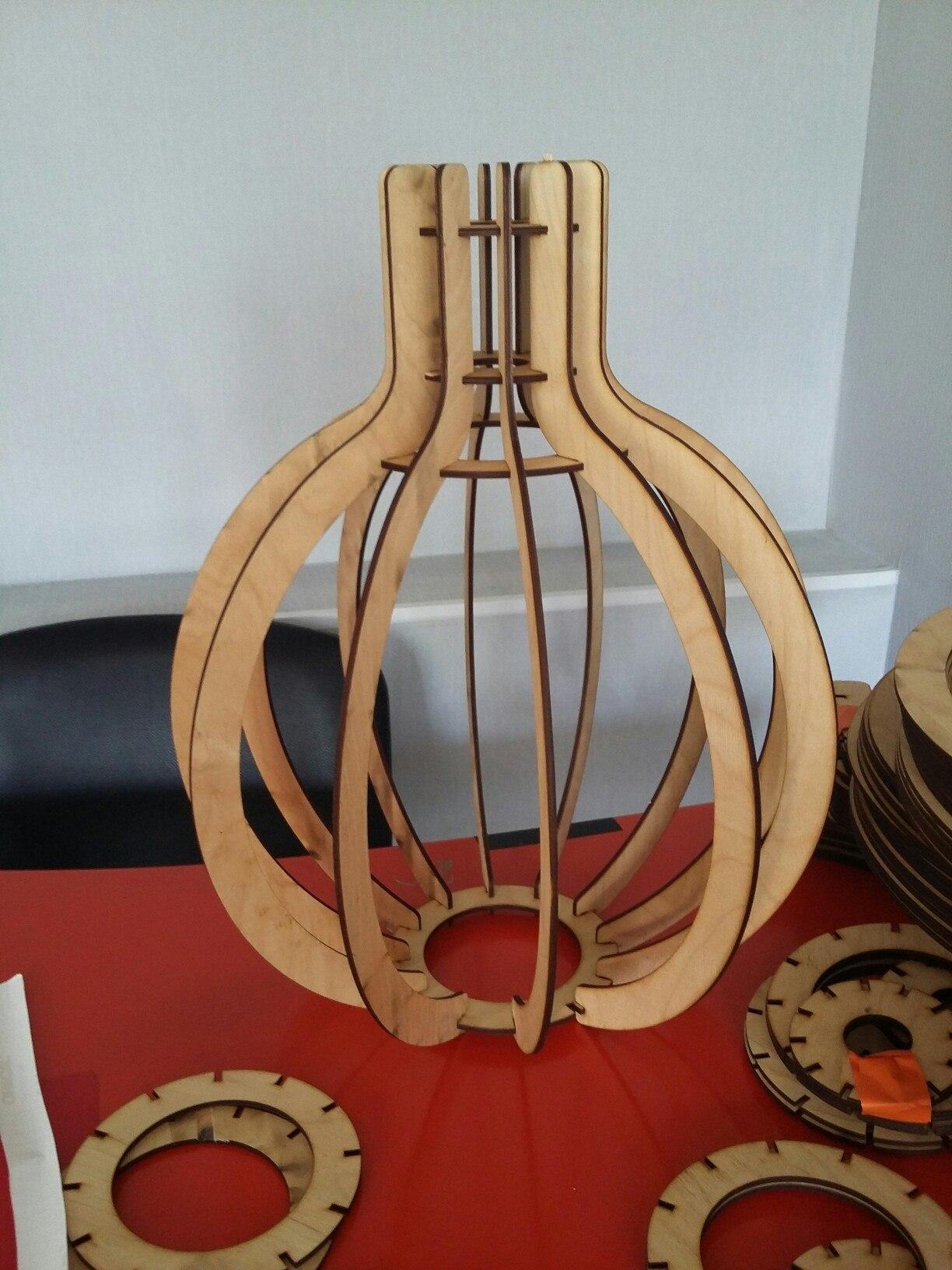 Lampa Lampochka For Laser Cut Free CDR Vectors Art