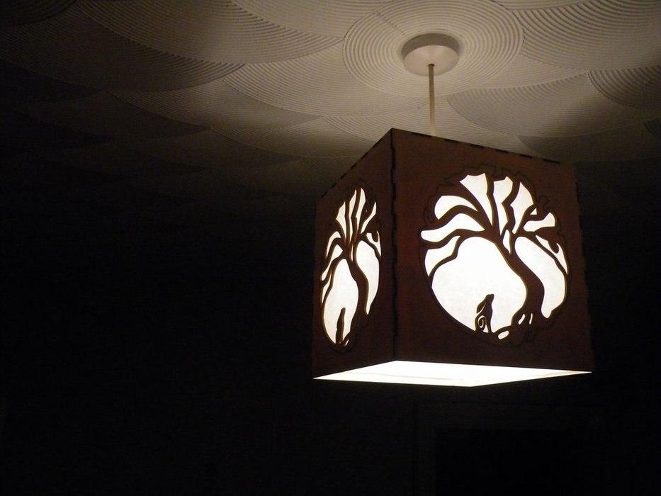 Moon Hare Lamp For Laser Cut Free CDR Vectors Art