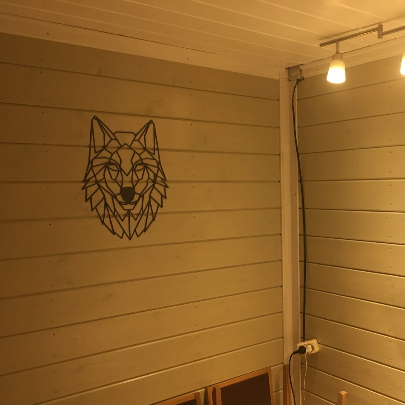 Wolf Wall Decor For Laser Cutting Free DXF File
