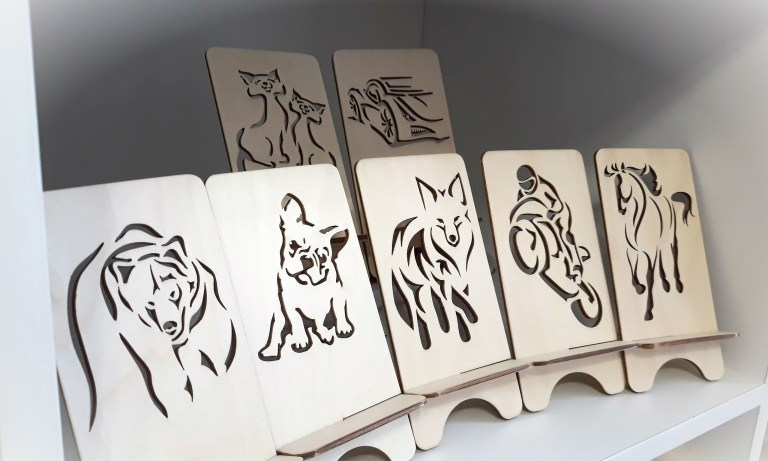 Animals For Laser Cutting Free DXF File