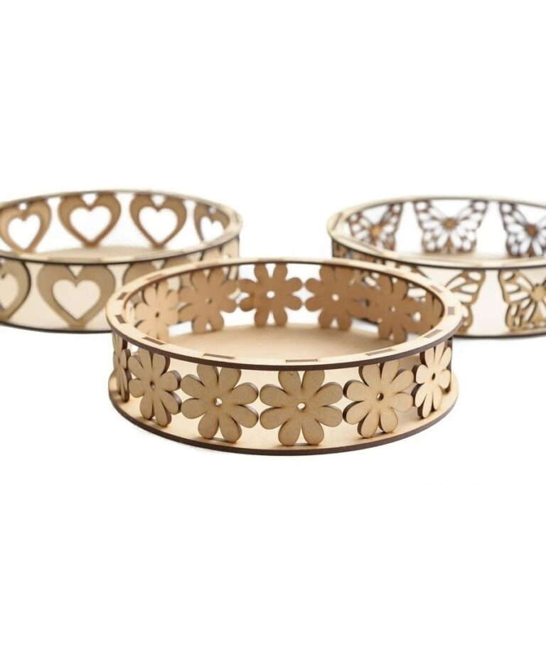 Candy Bowls Or Boxes For Jewelry For Laser Cut Free DXF File