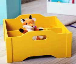 Toy Box For Laser Cut Free CDR Vectors Art
