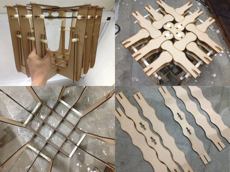 Chair Mdi For Laser Cut Free DXF File