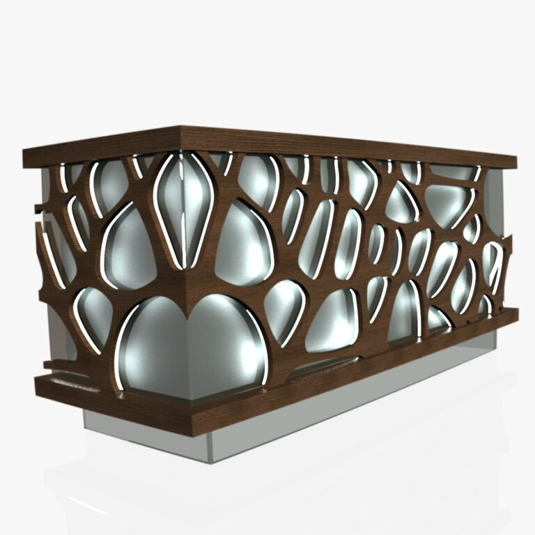 Table Design For Laser Cut Free DXF File