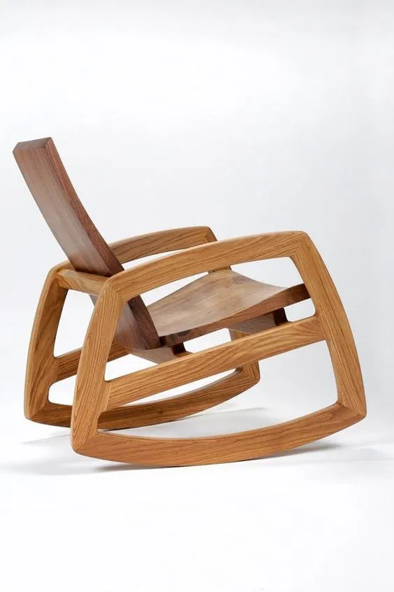 Wooden Swing Chair For Laser Cut Free DXF File