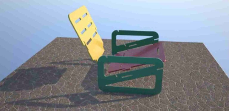 Chair Design For Laser Cut Free CDR Vectors Art