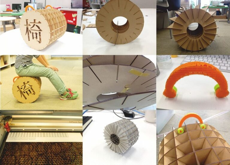 Chair Koroga For Laser Cut Free CDR Vectors Art