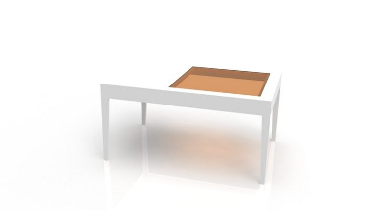 Coffee Table With Glass Top For Laser Cut Free CDR Vectors Art