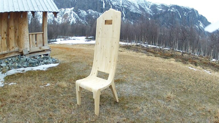 Layer Chair For Laser Cut Free CDR Vectors Art
