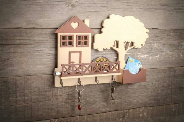 Key Holder Model You Will Need 5mm Plywood For Laser Cut Free CDR Vectors Art