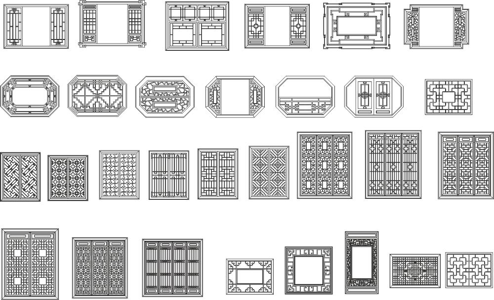 Grille Designs Free CDR Vectors Art
