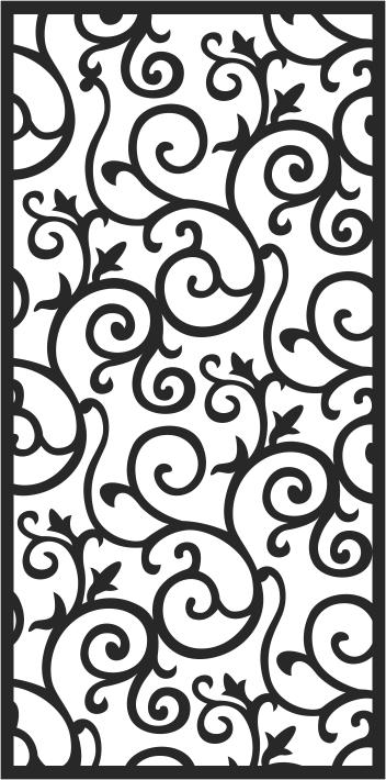 Decorative Screens Patterns Free CDR Vectors Art