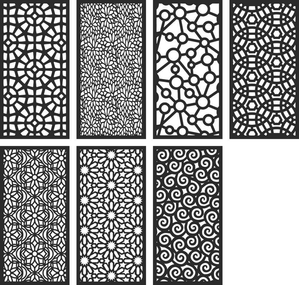 Screen Pattern Collection Free CDR Vectors Art