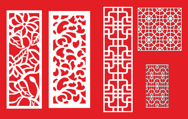 CNC Pattern Collection Free CDR Vectors Art