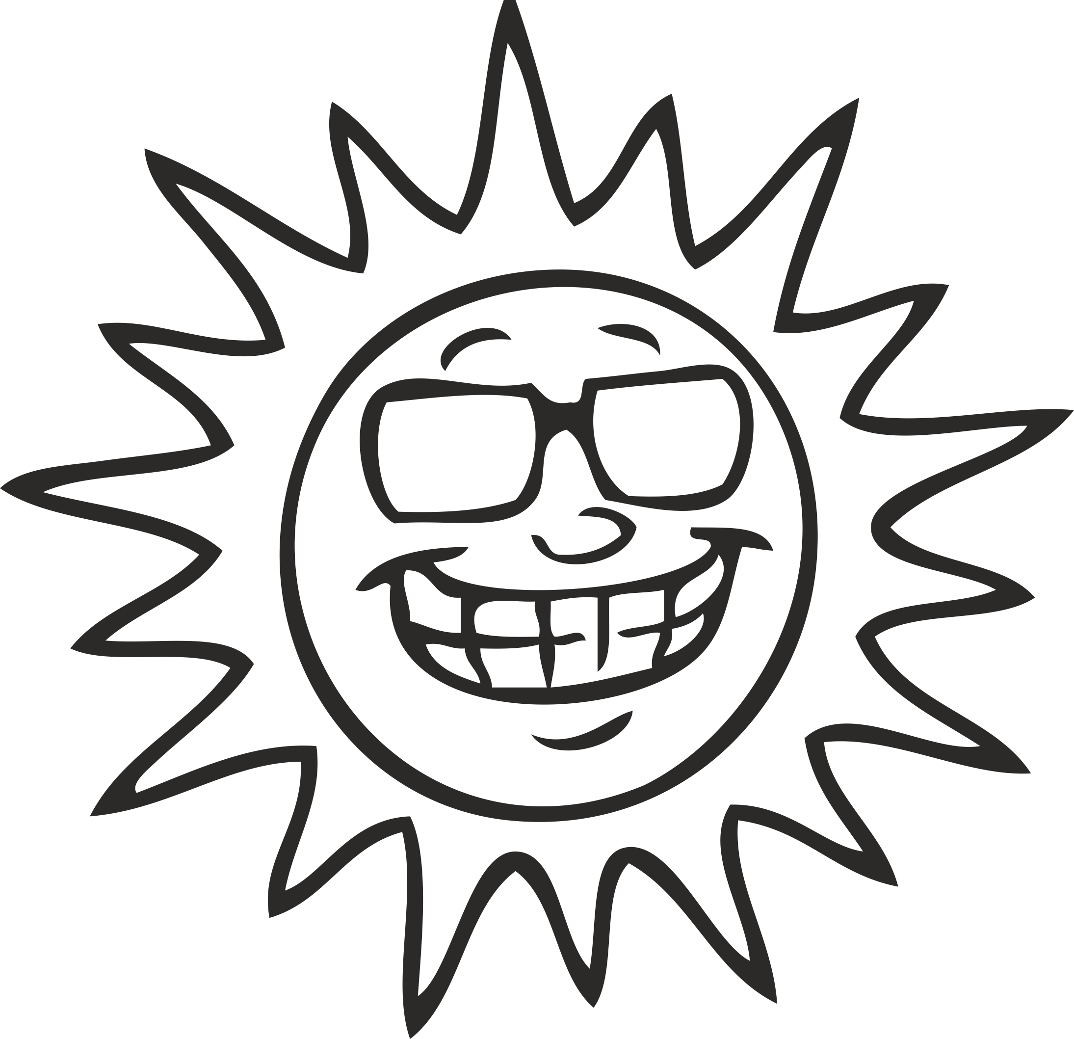 Solar Emotions # 02 Free CDR Vectors Art