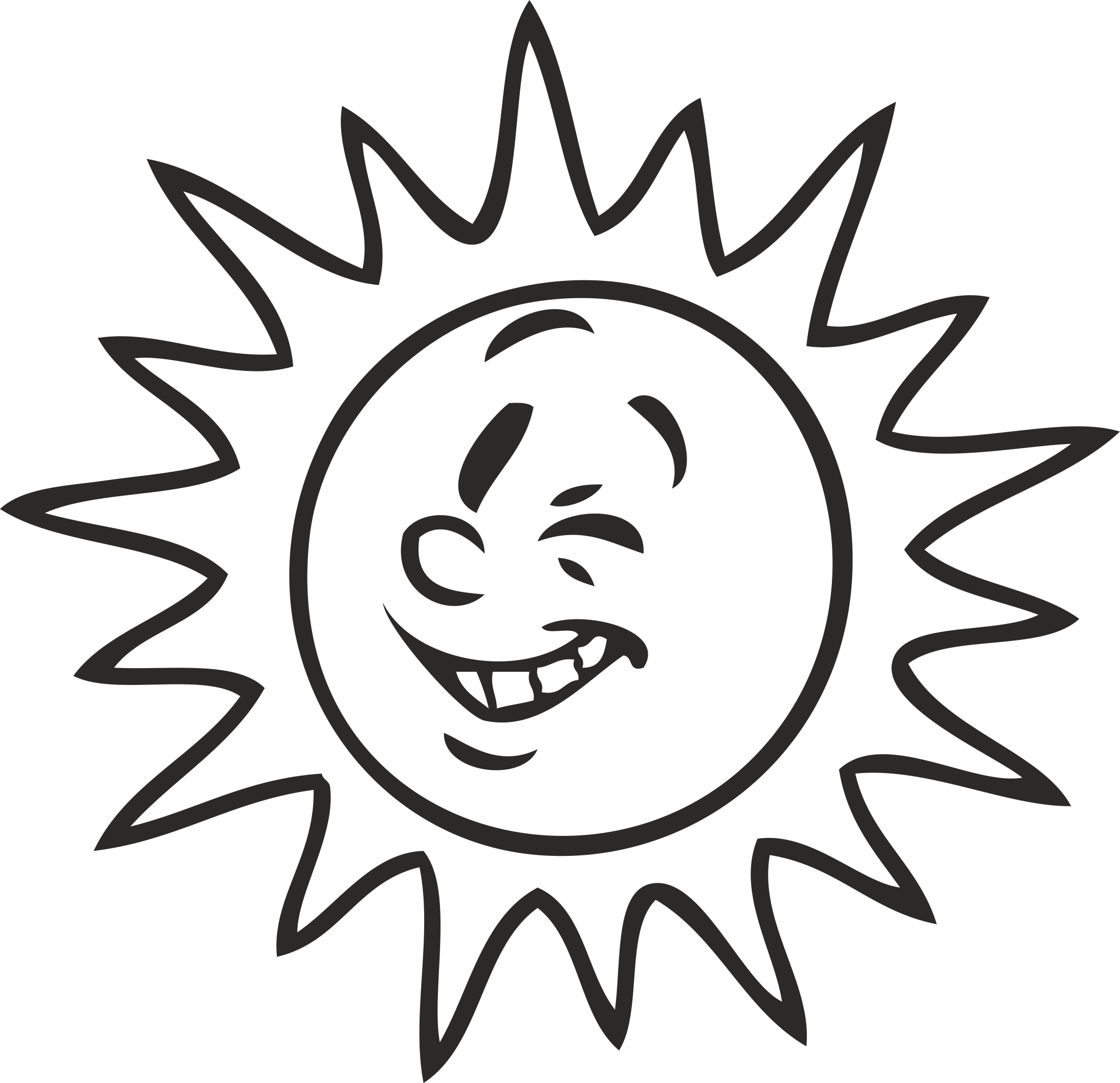 Solar Naughty Emotions # 06 Free CDR Vectors Art