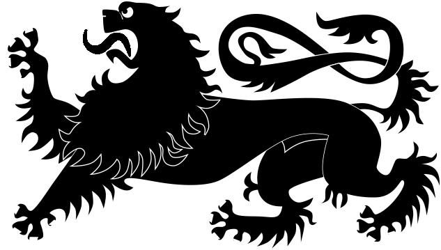 Heraldric Animal Free CDR Vectors Art