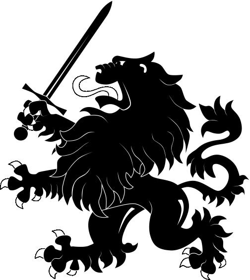Heraldric Lion Animal Free CDR Vectors Art