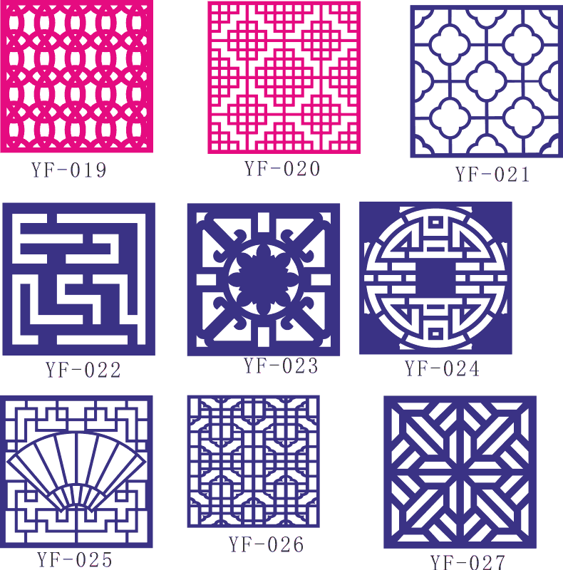 CNC Geometric Pattern Collection Free CDR Vectors Art