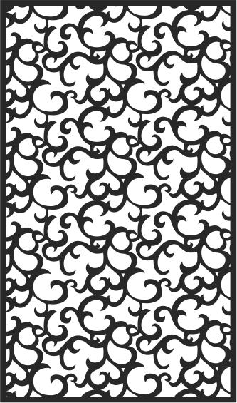 Black Seamless Lace Pattern Free CDR Vectors Art