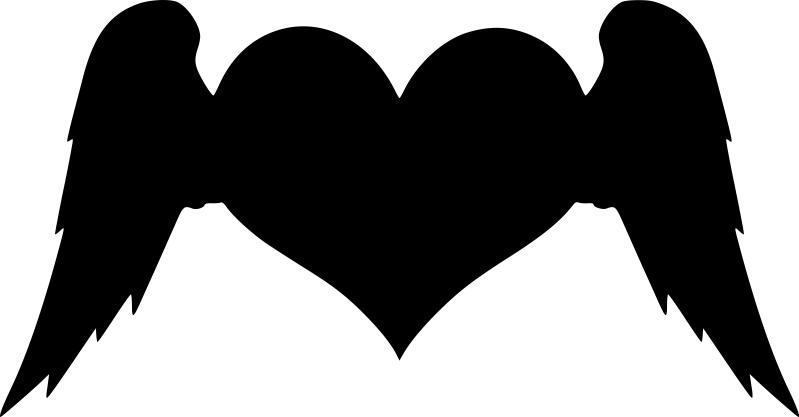 Winged Heart Free CDR Vectors Art