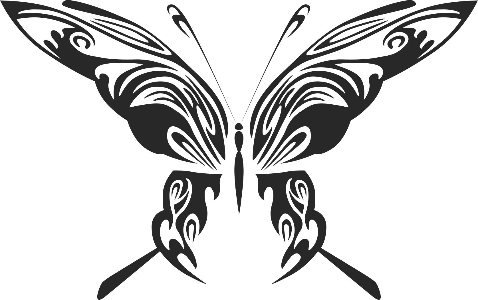 Butterfly Art 048 Free CDR Vectors Art