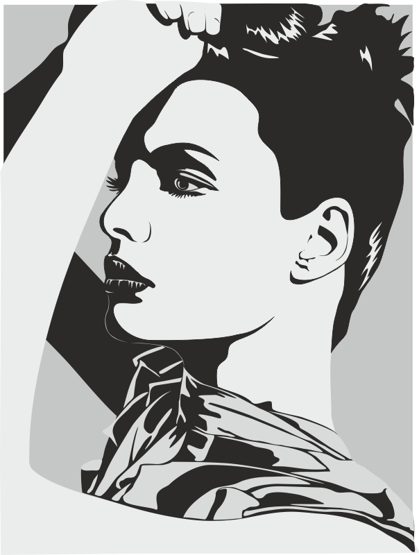 Lady Love Free CDR Vectors Art