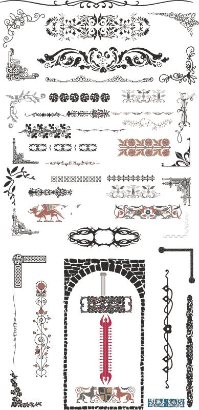Collection CNC Designs Free CDR Vectors Art