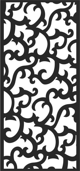 Floral Jali Patterns Seamless Free CDR Vectors Art