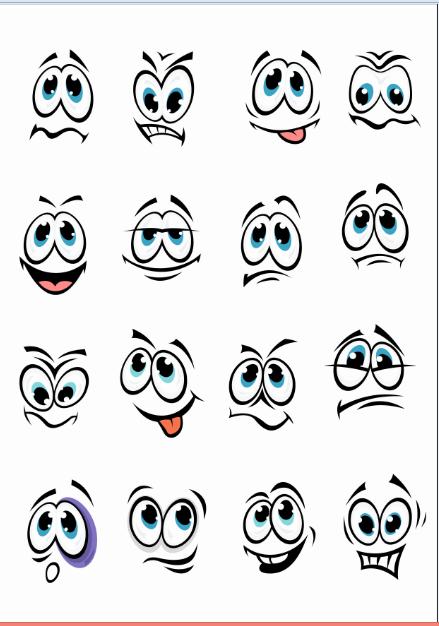 Smilies Download Faces Free CDR Vectors Art