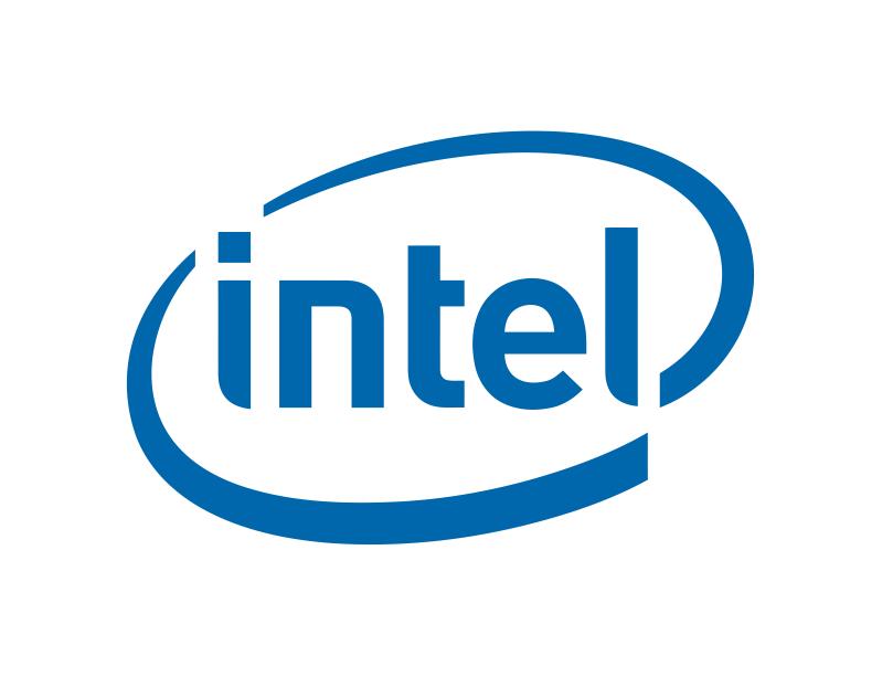 Intel Logo Free CDR Vectors Art