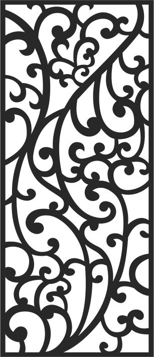 Jali Pattern Free CDR Vectors Art